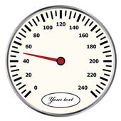 Speedometer — Stock Vector