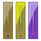 Thermometers — Stock Vector
