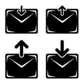 Označení e-mailu — Stock vektor