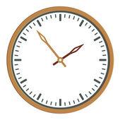 Cara del reloj - fácil cambio de tiempo — Vector de stock