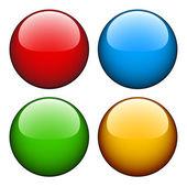 有光泽的按钮 — 图库矢量图片