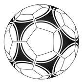 Bola de futebol — Vetor de Stock