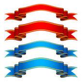 Ribbons — Vetor de Stock