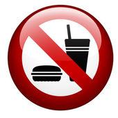 No food mark — Stock Vector