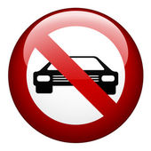 No car mark — Stock Vector