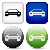 Car buttons — Stock Vector