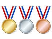 Medals — Stock Vector