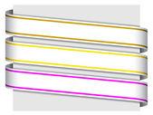 знаки ленты — Cтоковый вектор