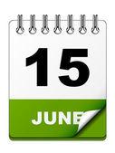 Calendar — Wektor stockowy