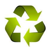 Símbolo de reciclaje — Vector de stock