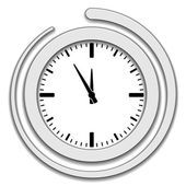 ícone face de relógio — Vetor de Stock