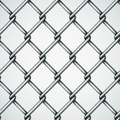 Wire fence seamless background — Stock Vector