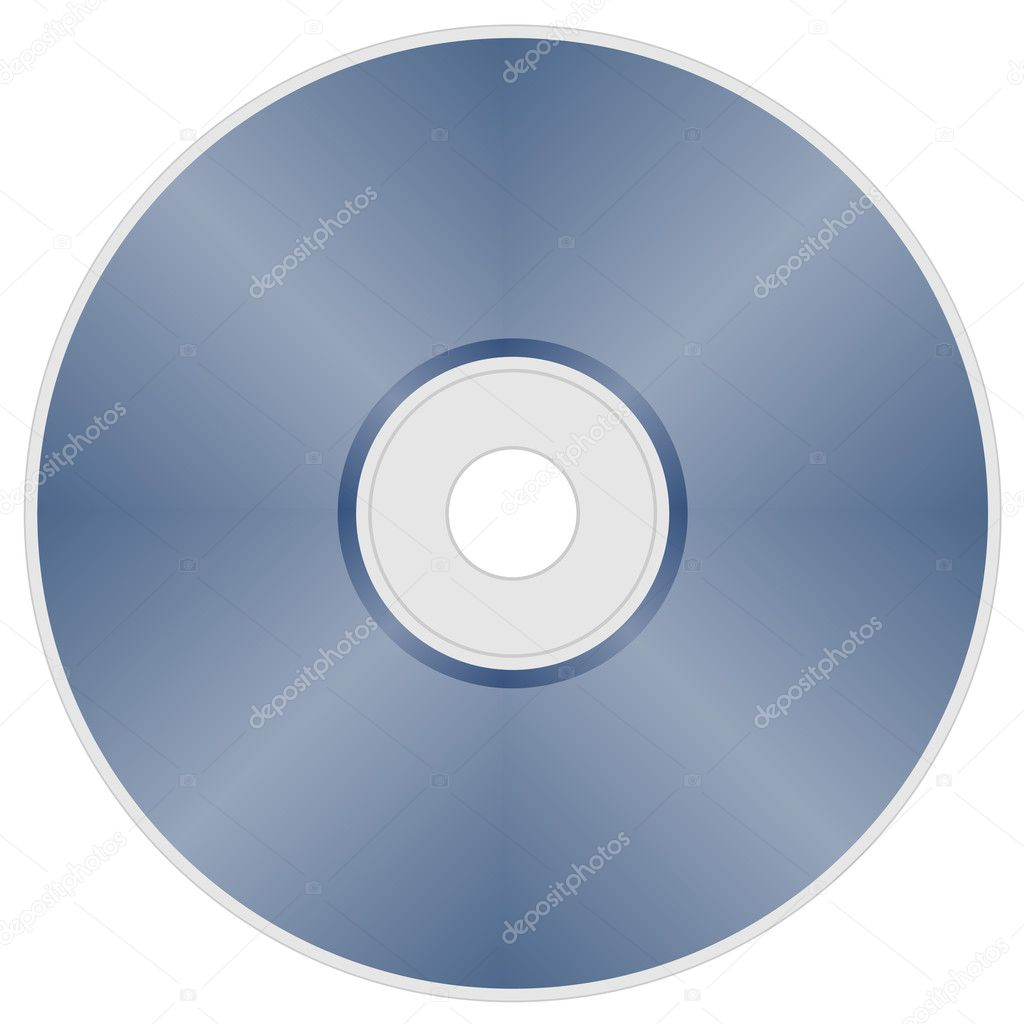 Compact disc - illustration for the web  Stock Vector #11492971