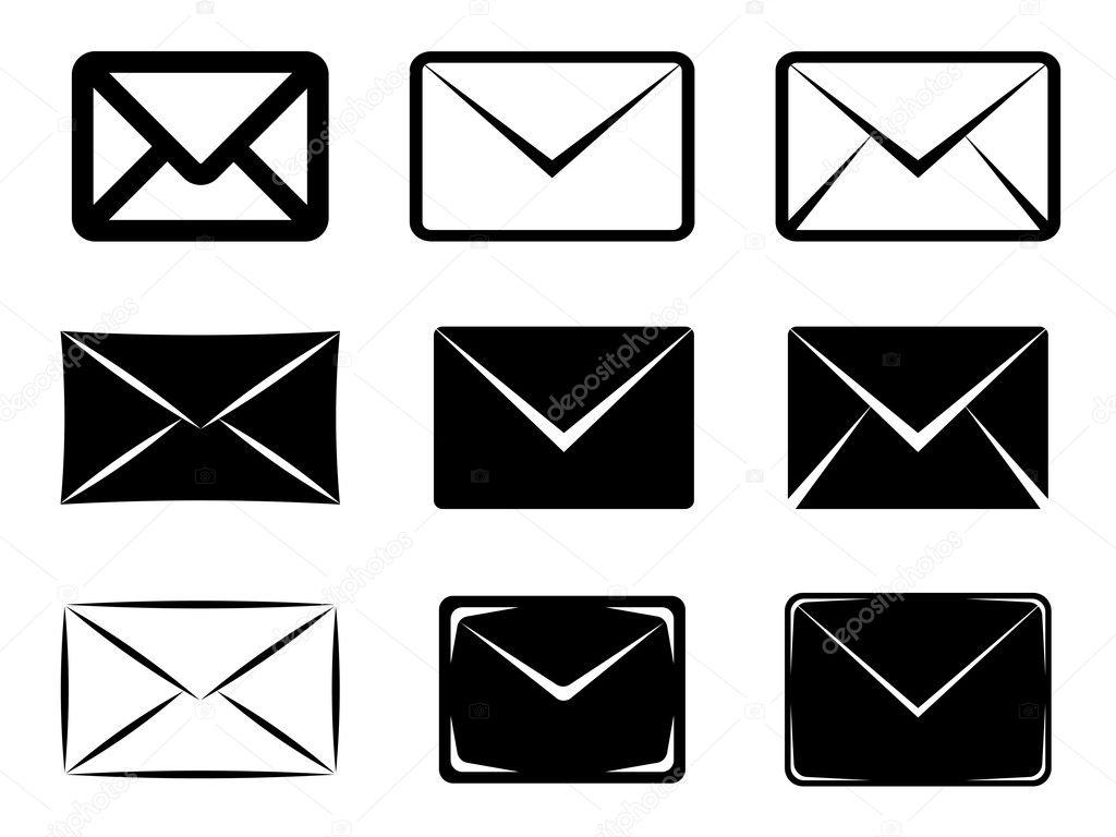 电子邮件标志 — 图库矢量图像08