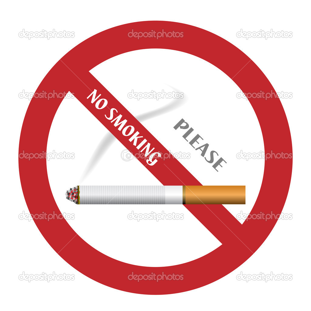No smoking sign - illustration for the web — Stock Vector #11493704