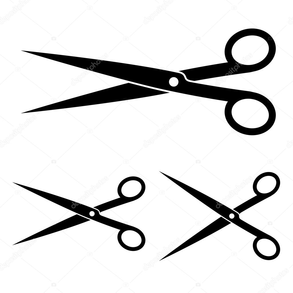 Hair Scissors Vector Images & Pictures - Becuo
