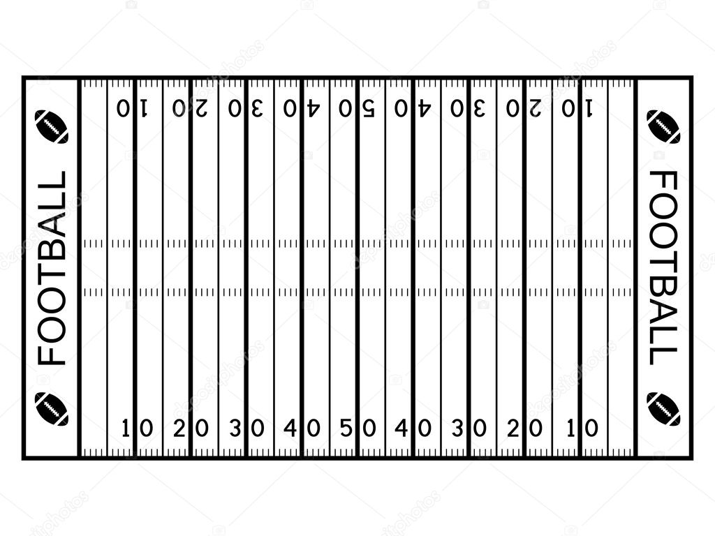 blank football field template - free soccer field diagram coloring pages