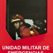 Stock Photo: Spanish Military Emergency Unit (UME)