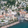 Stock Photo: Aerial view of Rapallo (Liguria, Italy)