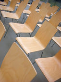 Um monte de cadeiras — Fotografia Stock