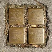 Memorial stones — Stock Photo