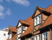 Dormers on the roof — Stock Photo