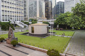 City Hall Memorial Garden at Hong Kong City Hall — Stock Photo