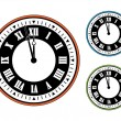 vector de reloj — Vector de stock  #11553635