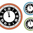 vector de reloj — Vector de stock  #11553637