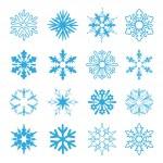 Vector set of snowflakes — Stock Vector #11553724