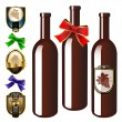 Vector wine collection — Stock Vector