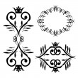 Stock Vector: Vector ornaments