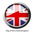 Vector flag of the United Kingdom — Stock Vector