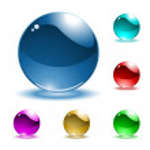 Vector shiny spheres — Stock Vector #11554454