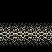 Vector golden design — Stock Vector