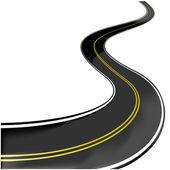 Vector road — Stock Vector