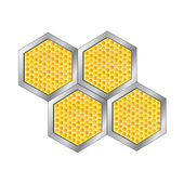 Vector honeycomb — Stock Vector
