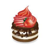 Vector dessert — Stock Vector