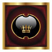 Royal disegno vettoriale — Vettoriale Stock