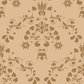 Vector seamless ornament textile — Vector de stock