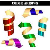 Vector arrows — Vector de stock