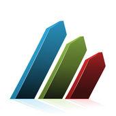 Flechas de navegación del vector — Vector de stock