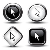 Vector buttons — Stock Vector