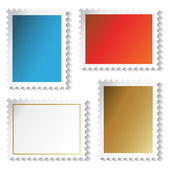 Vector stamps stickers — Stock Vector