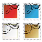 Vector stamp stickers — Stock Vector