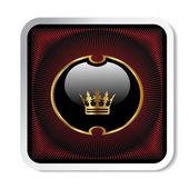 Vector royal label — Stock Vector