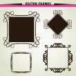 Stock Vector: Vector ornament frames