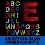 Vector alphabet — Stock Vector #11626377