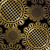 Vector seamless wallpaper — Stock Vector