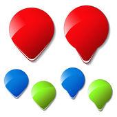 Vector arrow buttons — Stock Vector
